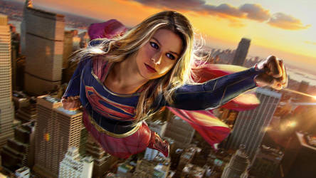 Supergirl WIP by uncannyknack