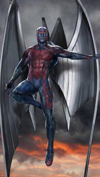 Archangel WIP by uncannyknack