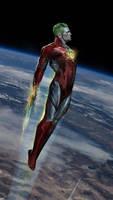 Captain Planet WIP by uncannyknack