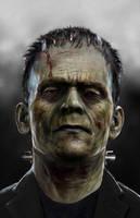 Frankenstein WIP by uncannyknack