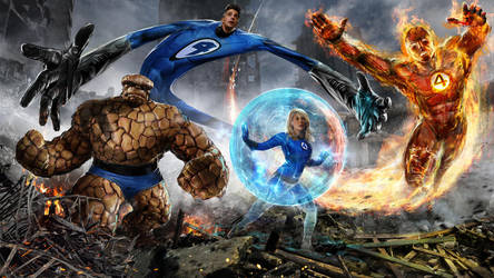 The Fantastic Four by uncannyknack