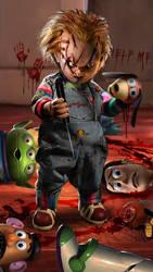 Chucky WIP by uncannyknack