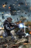 Captain Canuck: Invasion! by uncannyknack