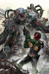 Judge Dredd: Toxic #1 by uncannyknack