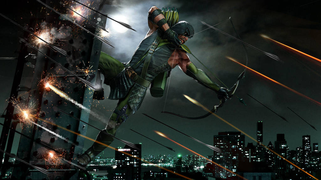 Green Arrow New WIP by uncannyknack