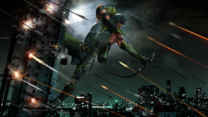 Green Arrow New WIP by uncannyknack