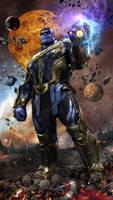 Thanos v2 WIP by uncannyknack