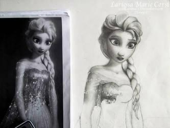 Elsa part 1 by x12Rapunzelx