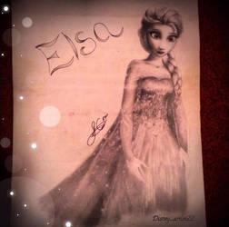 Let it Go ~ Elsa by x12Rapunzelx
