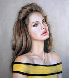 Video Games - Lana Del Rey by CueQQ