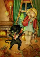Krampussy by EvilineMoonflesh