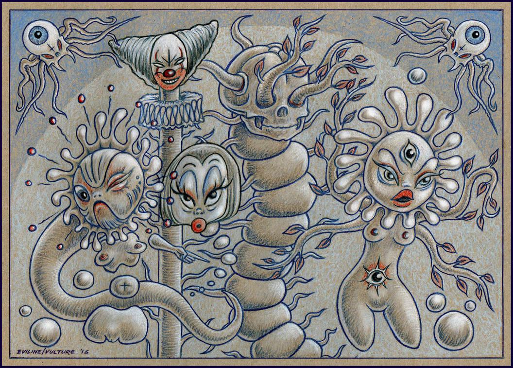 Les Fleurs du Mal by EvilineMoonflesh