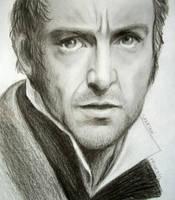 Jean Valjean - Hugh Jackman by SpartanB214