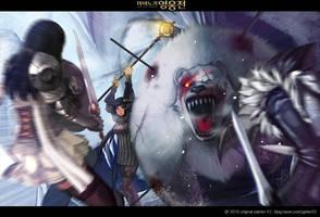 mabinogi:heroes[vindictus] fanart1 by kero22