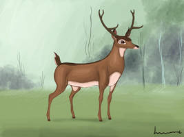 Bambi the New Great Prince of the Forest by Louisetheanimator