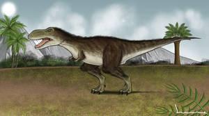Tyranosaurus Rex by Louisetheanimator