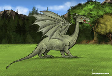 Dragon by Louisetheanimator
