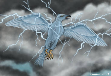 Thunderbird by Louisetheanimator