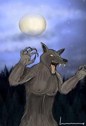 Werewolf by Louisetheanimator