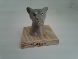 Lion Head by Louisetheanimator