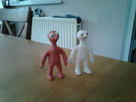 Morph and Chas by Louisetheanimator