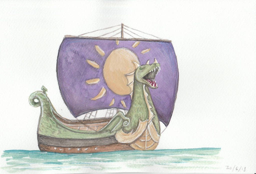 Dawn Treader - The Chronicles of Narnia by Louisetheanimator