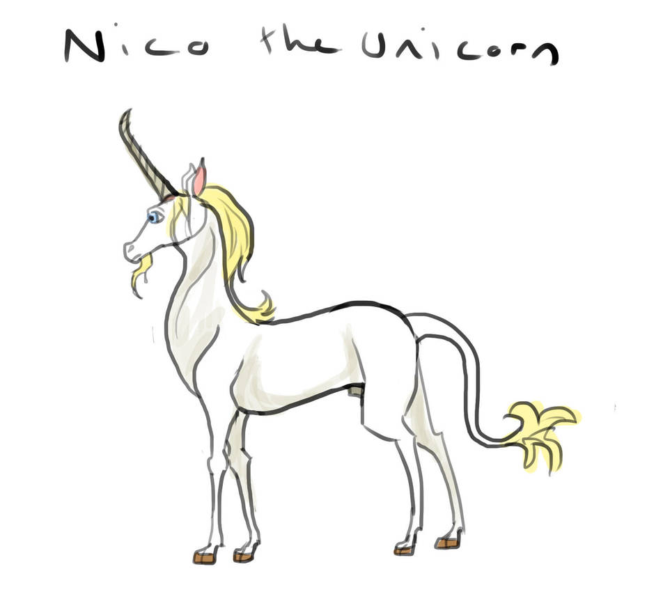 Nico the Unicorn by Louisetheanimator