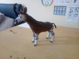 Okapi Sculpture by Louisetheanimator