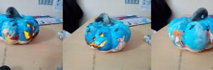 Sealion and Friends Pumpkin by Louisetheanimator