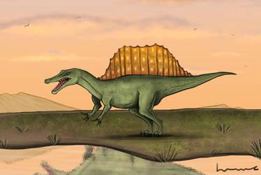 Spinosaurus 2 by Louisetheanimator