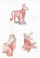 Obucator Sketches by Louisetheanimator
