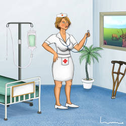 Nurse by Louisetheanimator