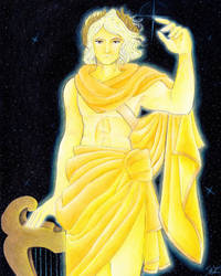 Apollo - God of Light and Music by StephanieChateau