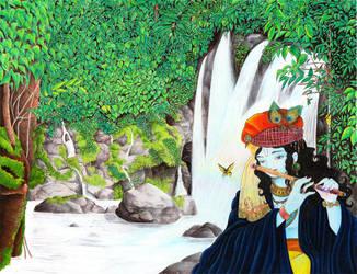 Another Krishna Dream by StephanieChateau