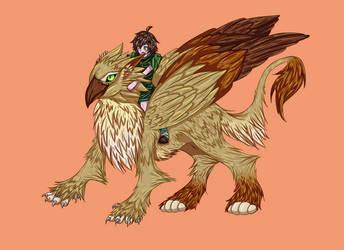 (Griffin) by lWeffer-Artl