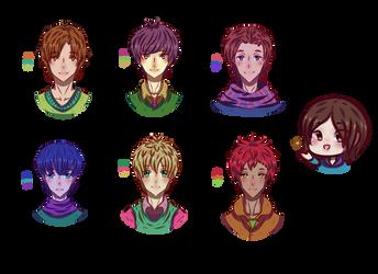 Boys (Color Palette) by lWeffer-Artl