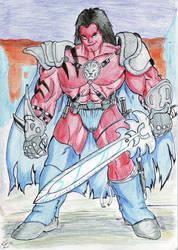 Red Skaar by Sansomon