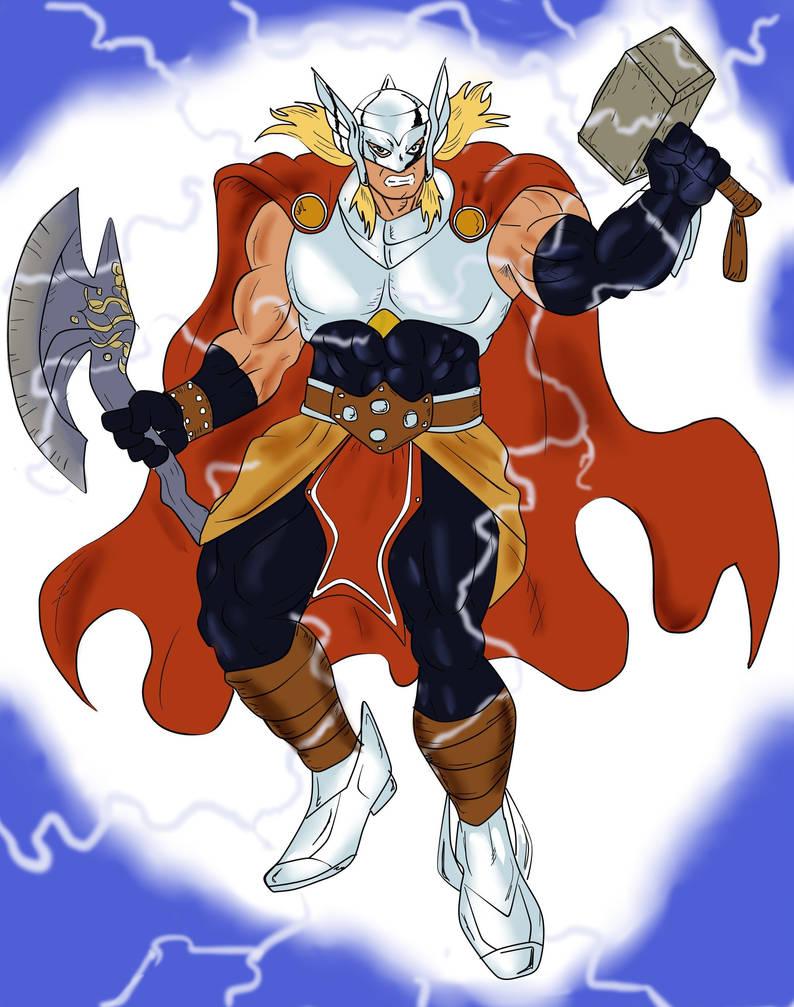 Thor 2099 by Sansomon