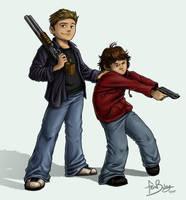 SPN: Kids With Guns by Ferntree