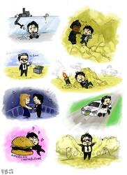Tony Stark Minis by Ferntree