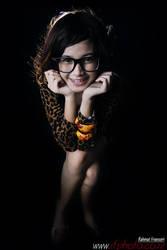 Distortion - glasses girl by kirakurama