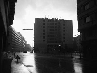 UFO over Grenoble by Ludo38