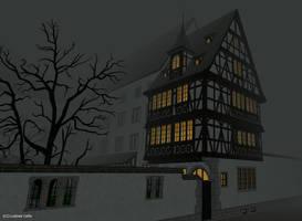 Maison pans de bois finale 02 by Ludo38