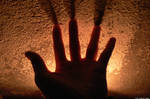 My hand, a candle and fun ! by Ludo38