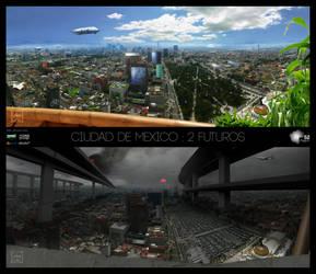 Ciudad de Mexico - 2 futuros by Ludo38
