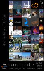 Portfolio 2018 - Architecture and Design by Ludo38
