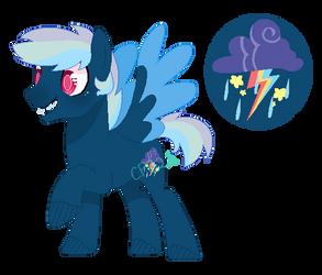 Blue Ballon: Cupcakeverse by Cupcakeblue22