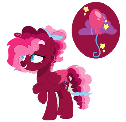 Party Rose: Cupcakeverse by Cupcakeblue22
