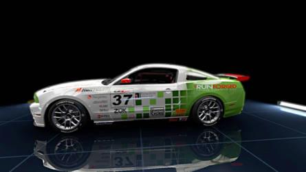 RunForged Mustang GT by dctoe