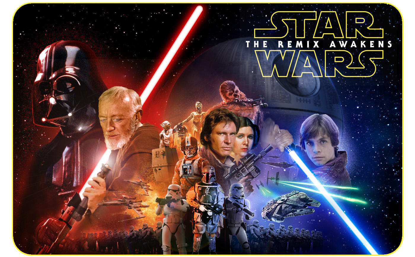 Star Wars Poster Remix by ToyOtter